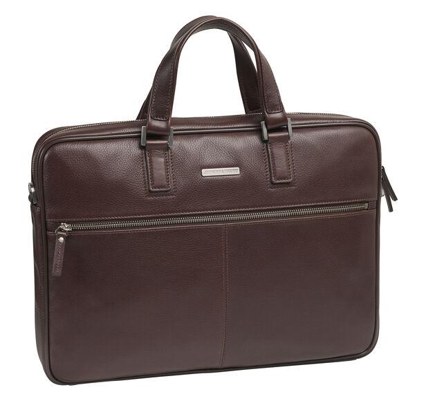 Slim Zip-Top Briefcase