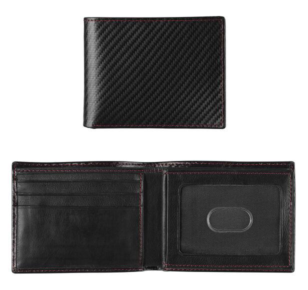 Nylon Flip Billfold Wallet
