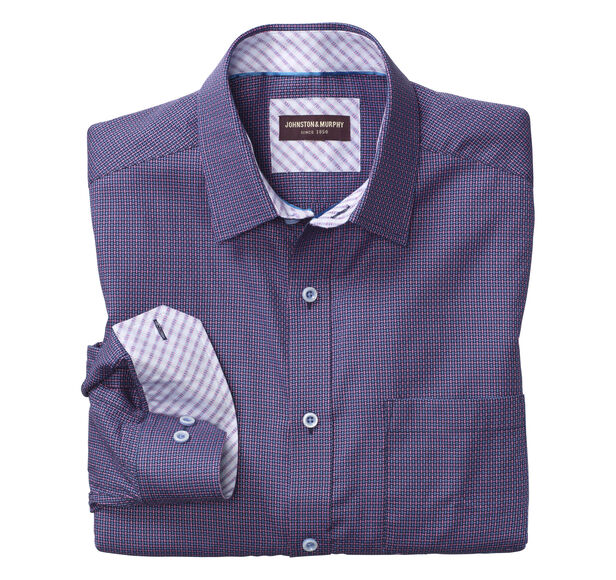 Basketweave Neat Shirt