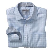 Herringbone Dash Windowpane Shirt