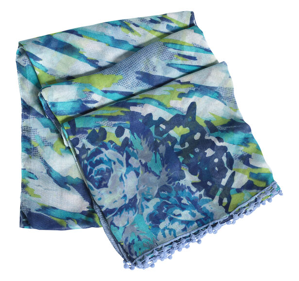 Camouflage Floral Scarf