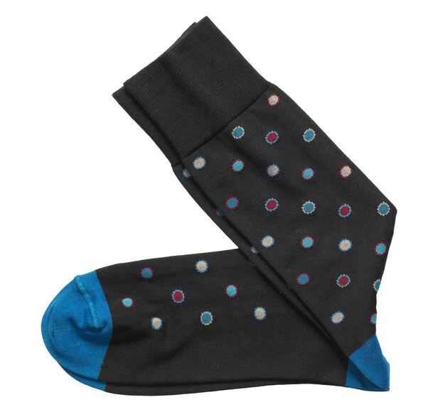 Framed Dot Socks
