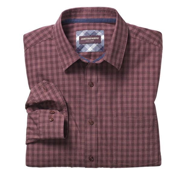 Tonal Heather Gingham Shirt
