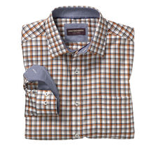 Angled Frame Check Shirt