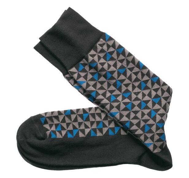 Rotating Triangle Socks