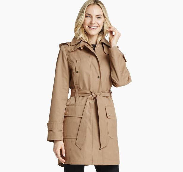 Belted Four-Pocket Jacket