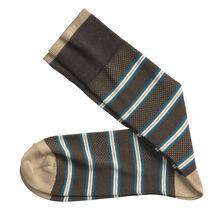 Birdseye Stripe Socks