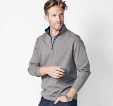 Finestripe Quarter-Zip