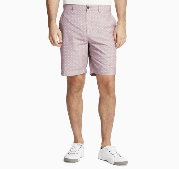 Diamond-Print Shorts