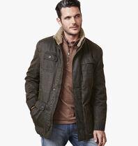 Four-Pocket Antiqued Cotton Jacket