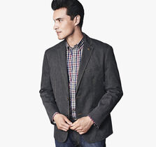 Finestripe Cotton Blazer