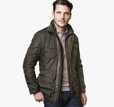 Nylon Four-Pocket Jacket