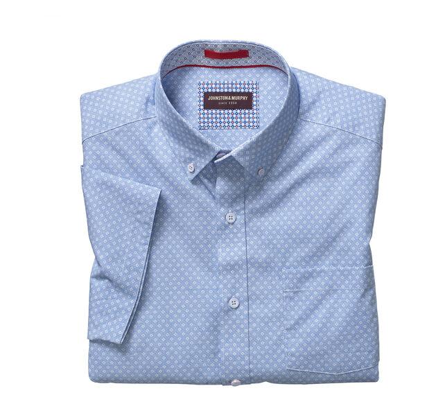 Floating Diamond Short-Sleeve Shirt