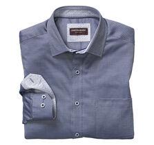 Reverse Micro Squares Neat Shirt