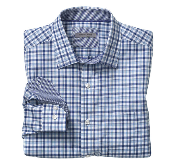 Double Gingham Shirt