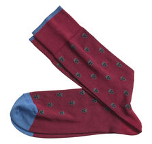 Simple Skull Socks