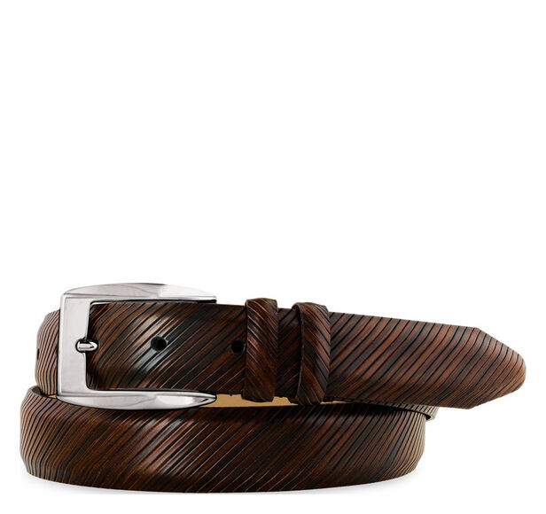 Diagonal Scored Belt