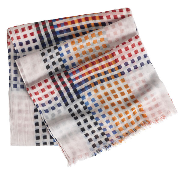 Spaced Square Scarf
