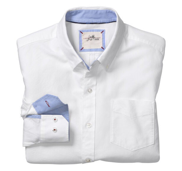 Slim Fit Washed Shirt