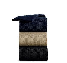Crisscross Slack-Length Socks