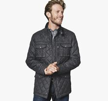 Four-Pocket Quilted Jacket