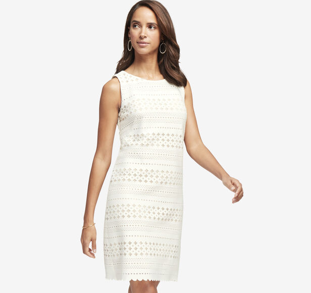 Perforated Dress