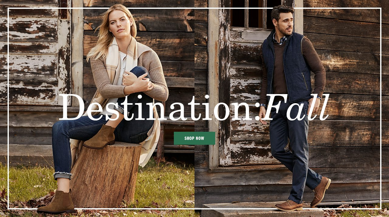 Destination: Fall - Shop Now