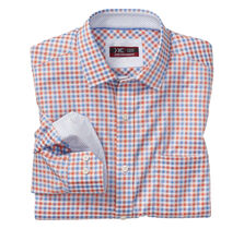XC4® Mini Gingham Point-Collar Shirt