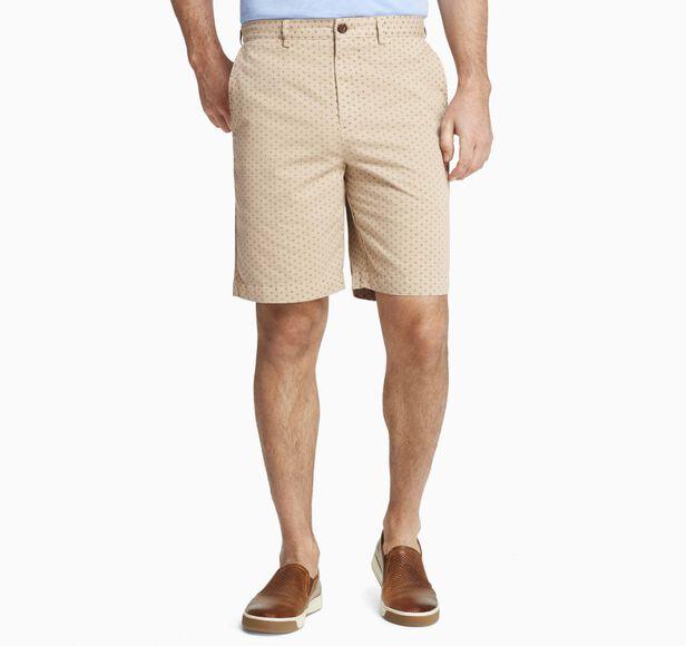 Fleur-de-Lis-Print Shorts
