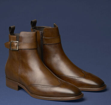 Cormac Wingtip Zip Boot