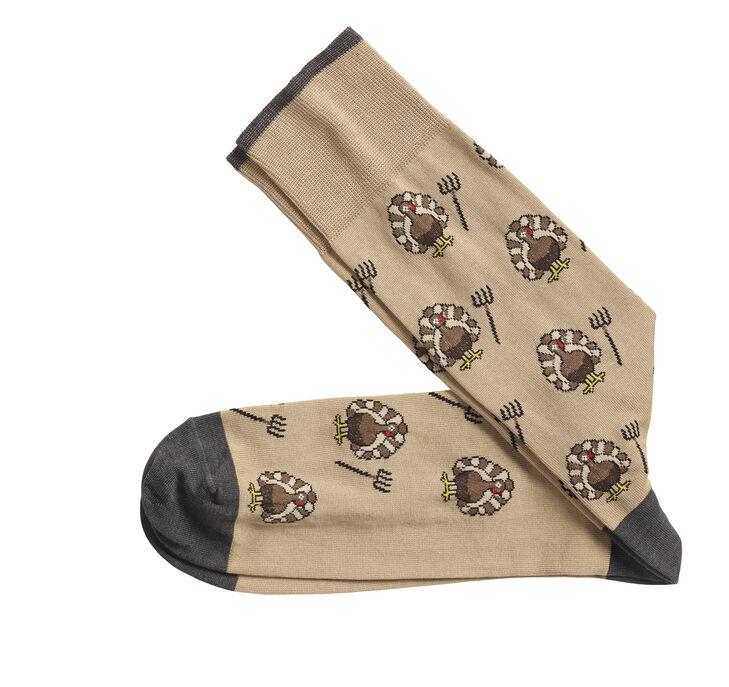 Turkey Pitch Fork Socks