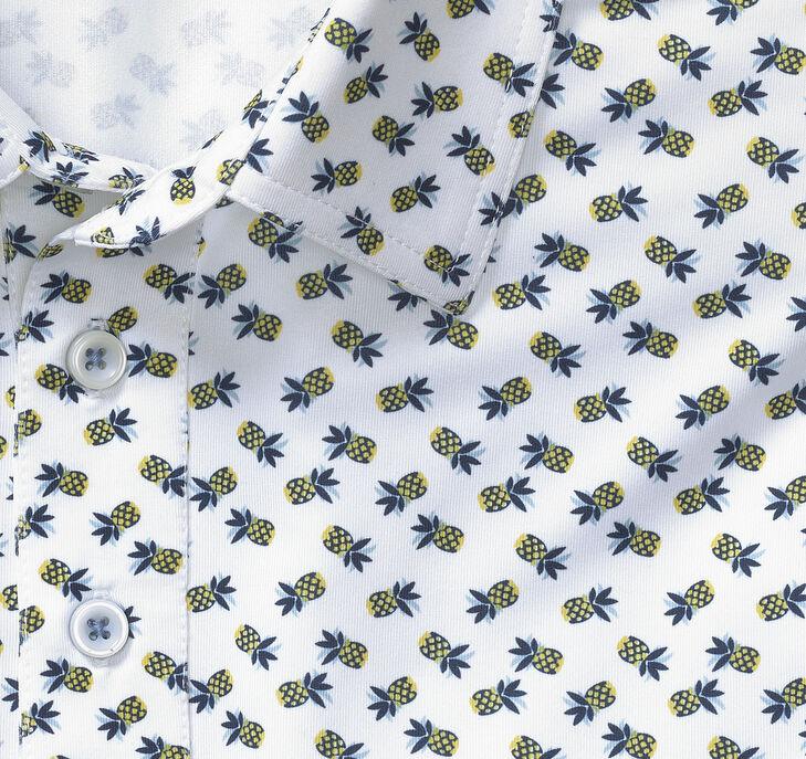 XC4® Pineapple Print Polo