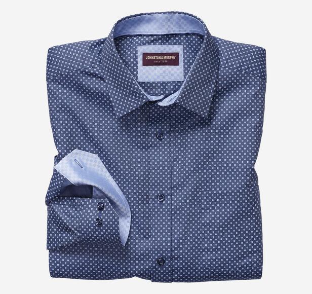 European Micro Square Shirt