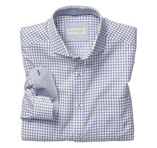 Italian Raised Grid Shirt