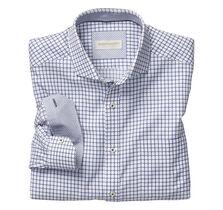 Italian Raised Grid Shirt