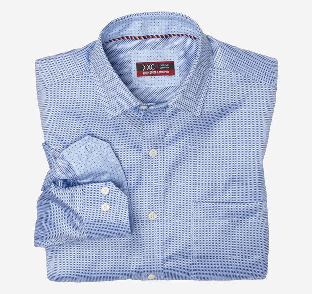 XC4® Micro Box Neat Point-Collar Shirt