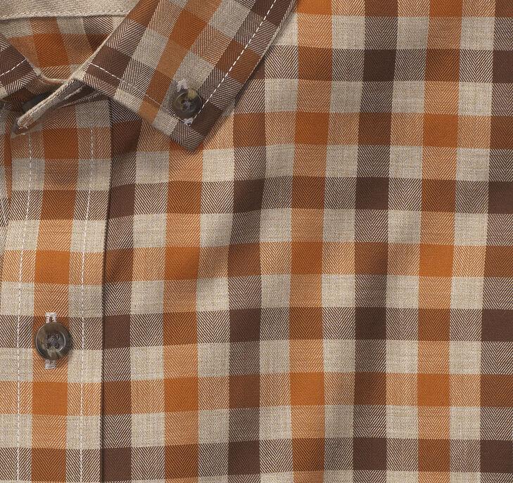 Heather Gingham Shirt