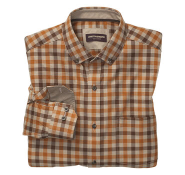 Heather Gingham Shirt