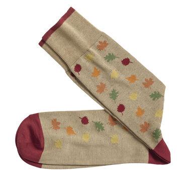 Falling Leaves Socks