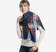 Brushed Bold Plaid Scarf