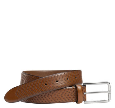 Embossed-Chevron Belt
