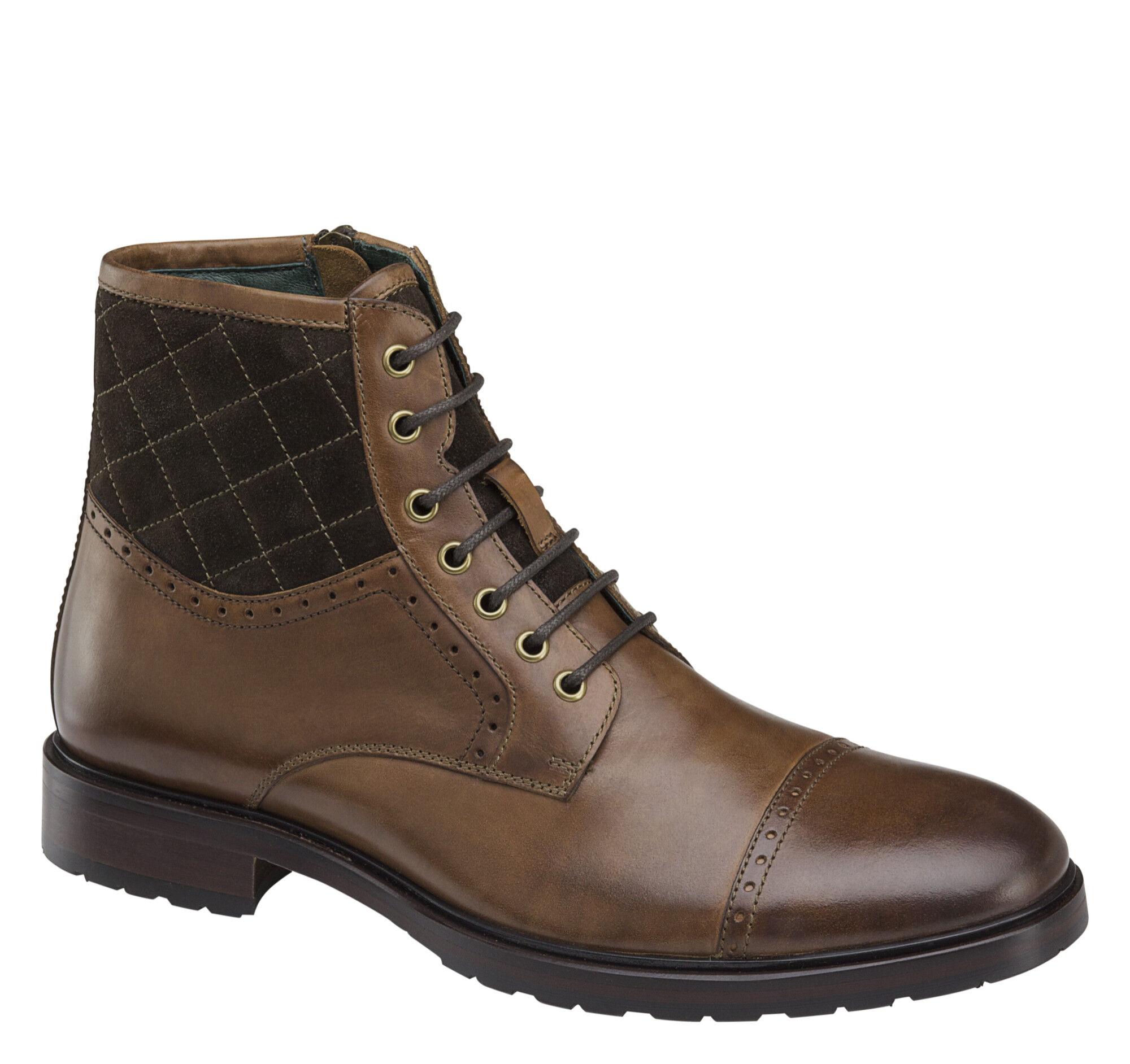 Myles Cap Toe Boot Johnston Amp Murphy