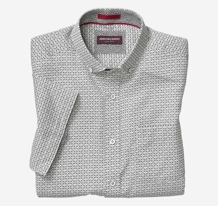 Wing Grid Short-Sleeve Shirt