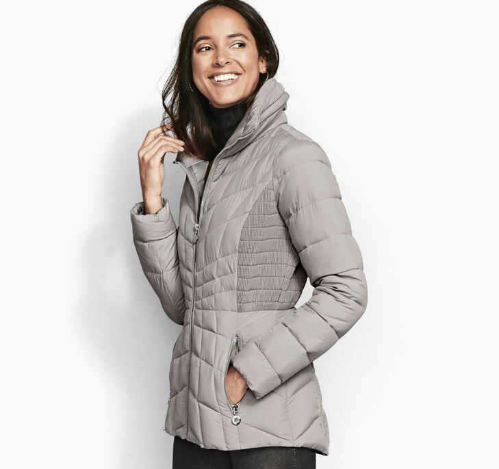 Packable Quilted Jacket