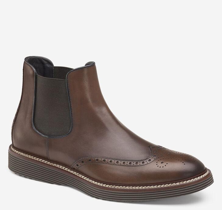 Casteel Chelsea Wingtip Boot