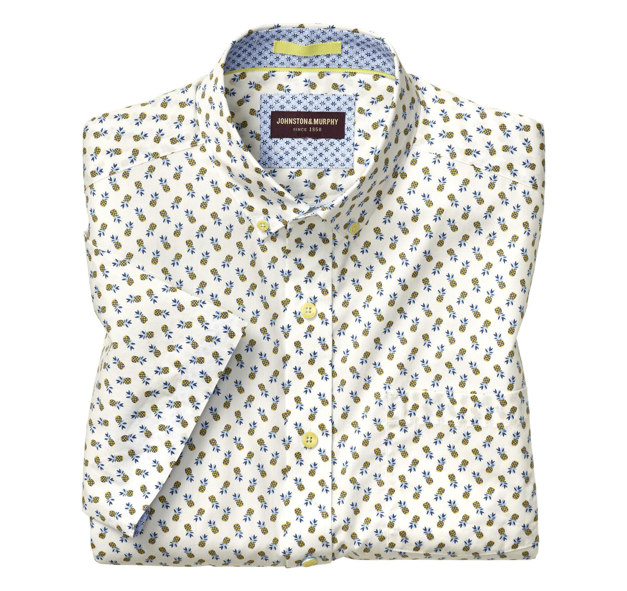 8ab200038f1 Pineapple Print Short-Sleeve Shirt ...