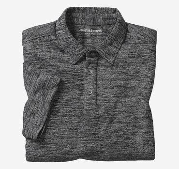 Indigo Knit Polo