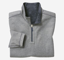 XC4® Reversible Textured-Print Quarter-Zip