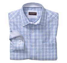 Raised Wide Check Shirt