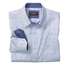 Mini Four Square Clip-Pattern Shirt